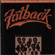 The Fatback Band Greatest Hits UK vinyl LP