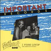 Click here for more info about 'The Fatback Band - I Found Lovin' (London Boys Mix)'