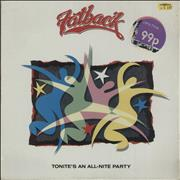 The Fatback Band Tonite's An All-Nite Party UK vinyl LP