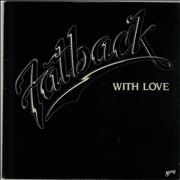The Fatback Band With Love USA vinyl LP