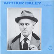Click here for more info about 'The Firm (Pop) - Arthur Daley ('e's Alright)'