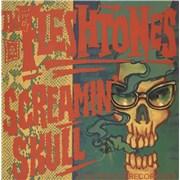 """The Fleshtones Screaming Skull UK 7"""" vinyl Promo"""