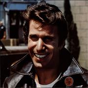 Click here for more info about 'The Fonz - Fonzie Favorites - EX - Merch sheet'