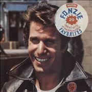 Click here for more info about 'The Fonz - Fonzie Favorites - stickered p/s'