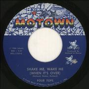 Click here for more info about 'The Four Tops - Shake Me, Wake Me (When It's Over)'