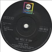 Click here for more info about 'The Four Tops - The Well Is Dry'