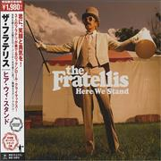Click here for more info about 'The Fratellis - Here We Stand'