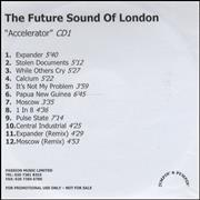 Click here for more info about 'The Future Sound Of London - Accelerator'