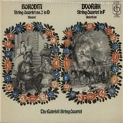 Click here for more info about 'The Gabrieli String Quartet - Borodin: String Quartet No. 2 in D 'Kismet' / Dvorák: String Quartet In F 'American''