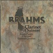Click here for more info about 'The Gabrieli String Quartet - Brahms: Clarinet Quintet'