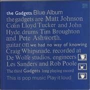 Click here for more info about 'The Gadgets - Blue Album'