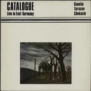 Click here for more info about 'The Ganelin Trio - Catalogue Live In East Germany'