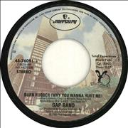 Click here for more info about 'The Gap Band - Burn Rubber (Why You Wanna Hurt Me)'