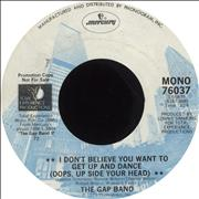 Click here for more info about 'The Gap Band - I Don't Believe You Want To Get Up And Dance (Oops Up Side Your Head)'