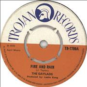 Click here for more info about 'The Gaylads - Fire And Rain'