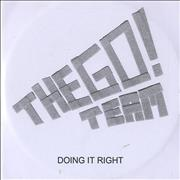 Click here for more info about 'The Go! Team - Doing It Right'