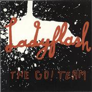 Click here for more info about 'The Go! Team - Ladyflash - Red vinyl'