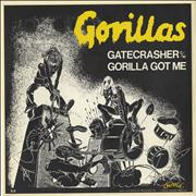 "The Gorillas Gatecrasher UK 7"" vinyl"