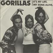 "The Gorillas It's My Life UK 7"" vinyl"