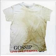 Click here for more info about 'The Gossip - Live In Liverpool'