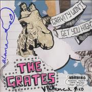 Click here for more info about 'The Grates - Gravity Won't Get You High/The Ouch EP - Fully Autographed'