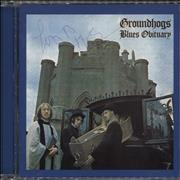 Click here for more info about 'The Groundhogs - Blues Obituary - Autographed'