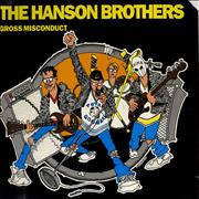 Click here for more info about 'The Hanson Brothers - Gross Misconduct - Advance Copy'
