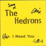 Click here for more info about 'I Need You - Autographed'