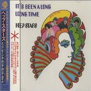 The Hep Stars It's Been A Long Time Japan CD single