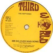"""The Heptones Mr Do Over Man Song UK 7"""" vinyl"""