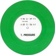 "The Heys Pressure - Green Vinyl UK 7"" vinyl"