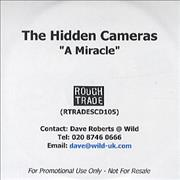 Click here for more info about 'The Hidden Cameras - A Miracle'