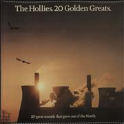 The Hollies 20 Golden Greats - 1st UK vinyl LP