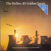 The Hollies 20 Golden Greats - 2nd UK vinyl LP
