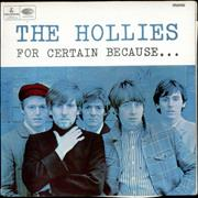 The Hollies For Certain Because... - EX UK vinyl LP