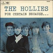 Click here for more info about 'The Hollies - For Certain Because... - VG'