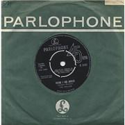 """The Hollies Here I Go Again UK 7"""" vinyl"""