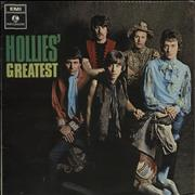 The Hollies Hollies' Greatest - 1st - VG UK vinyl LP