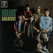 The Hollies Hollies' Greatest - 1st - EX UK vinyl LP