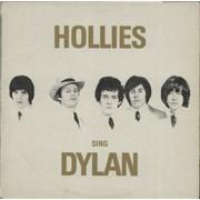 The Hollies Hollies Sing Dylan - 1st UK vinyl LP
