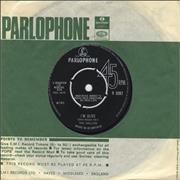 """The Hollies I'm Alive UK 7"""" vinyl"""