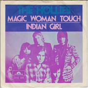 Click here for more info about 'The Hollies - Magic Woman Touch + P/S'