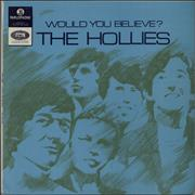The Hollies Would You Believe? South Africa vinyl LP