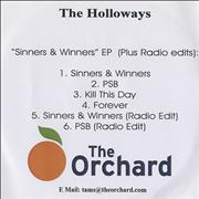 Click here for more info about 'The Holloways - Sinners & Winners EP'