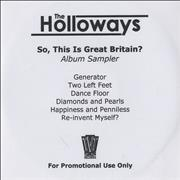 Click here for more info about 'The Holloways - So, This Is Great Britain? - Album Sampler'