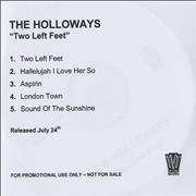 Click here for more info about 'The Holloways - Two Left Feet'