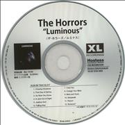 Click here for more info about 'The Horrors - Luminous + PR'