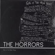 The Horrors She Is The New Thing + PR UK CD-R acetate Promo