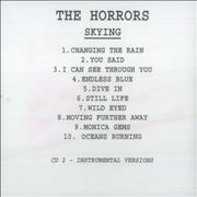 Click here for more info about 'The Horrors - Skying'
