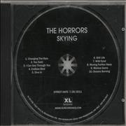 The Horrors Skying USA CD album Promo
